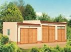 Проект вместительного гаража